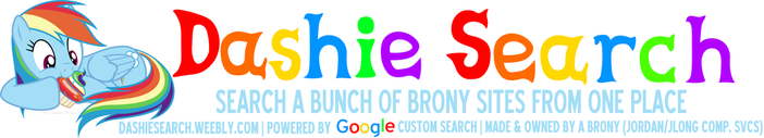Dashie Search - Search a bunch of brony sites from one place